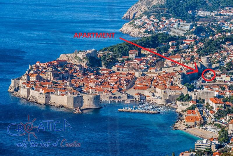 Apartment Stone (Holiday Rentals Croatia  > Dubrovnik area > Dubrovnik) - View enlarged photo